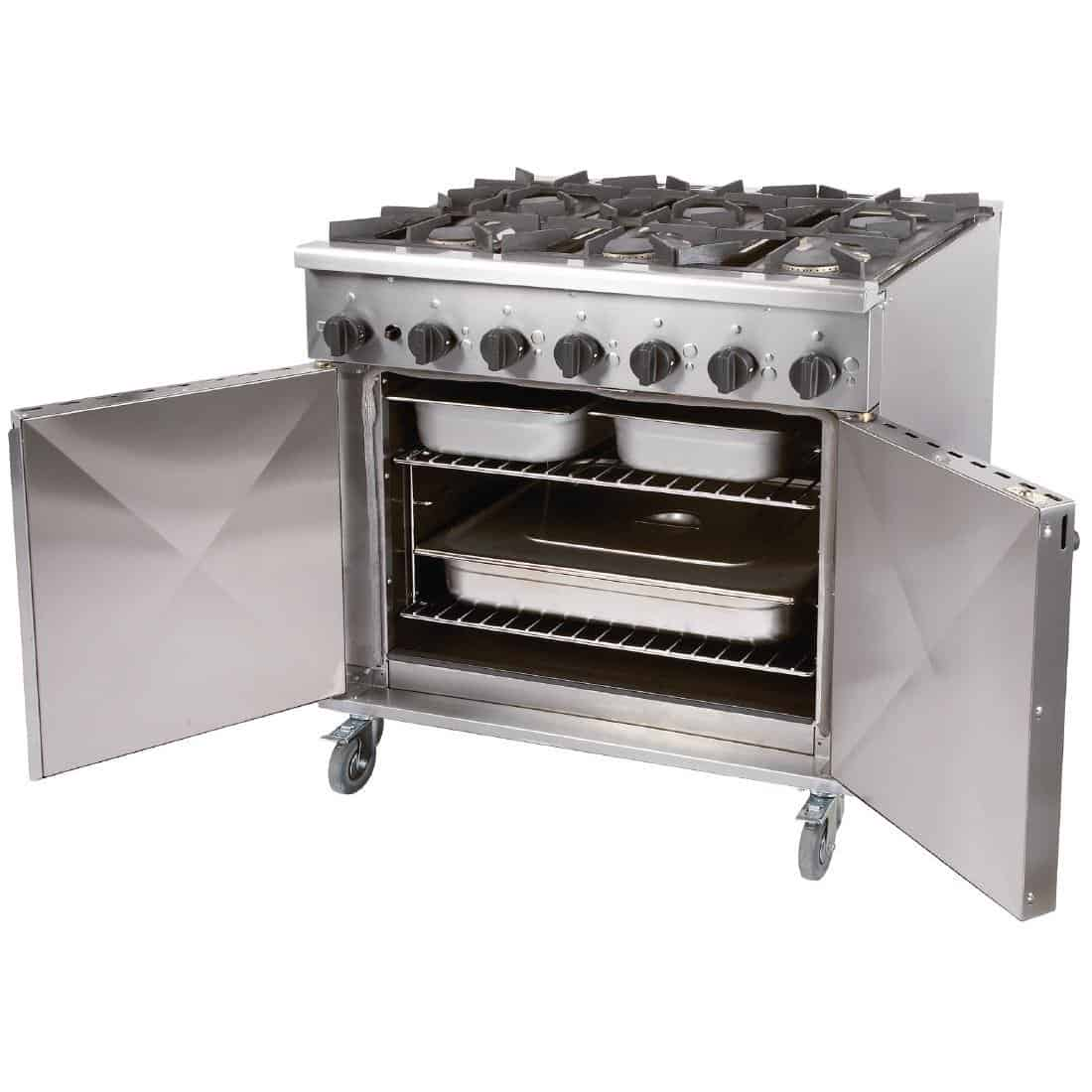 6 Burner Propane Gas Oven For Hire Herts Beds Bucks