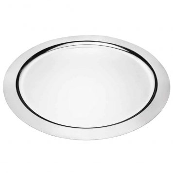Stainless Steel Round Flats 14 Inch Wa Carr Son