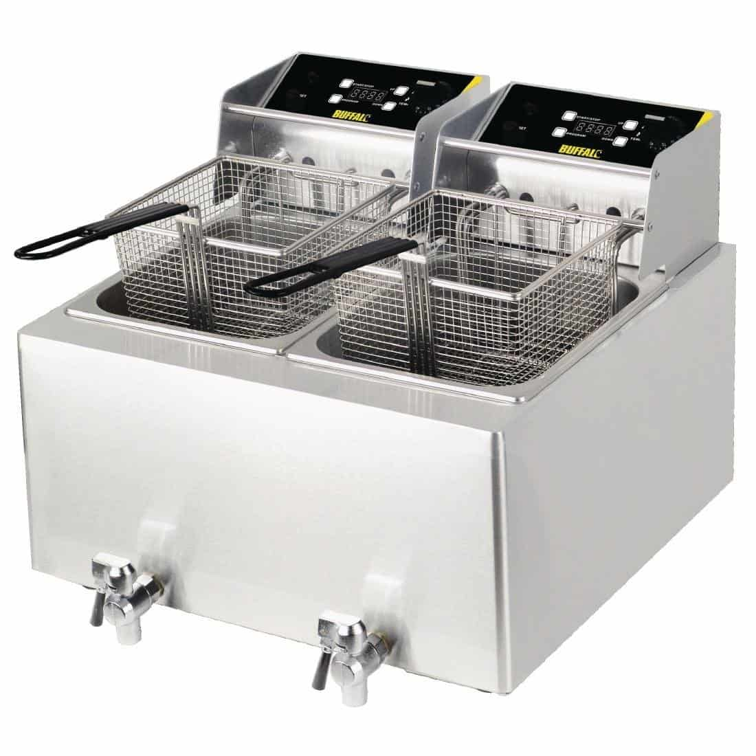 Electric Double Fryer For Hire Herts Beds Bucks