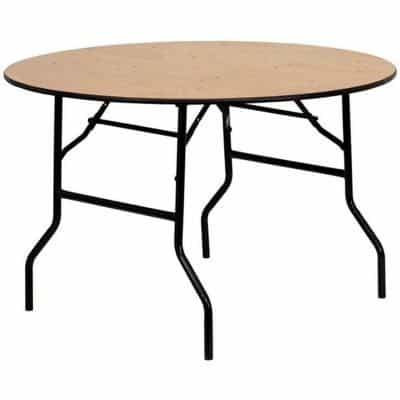 round folding table For Hire Herts Beds and Bucks