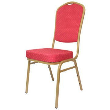 Royal Gilt Chair in Red For Hire Herts Beds and Bucks