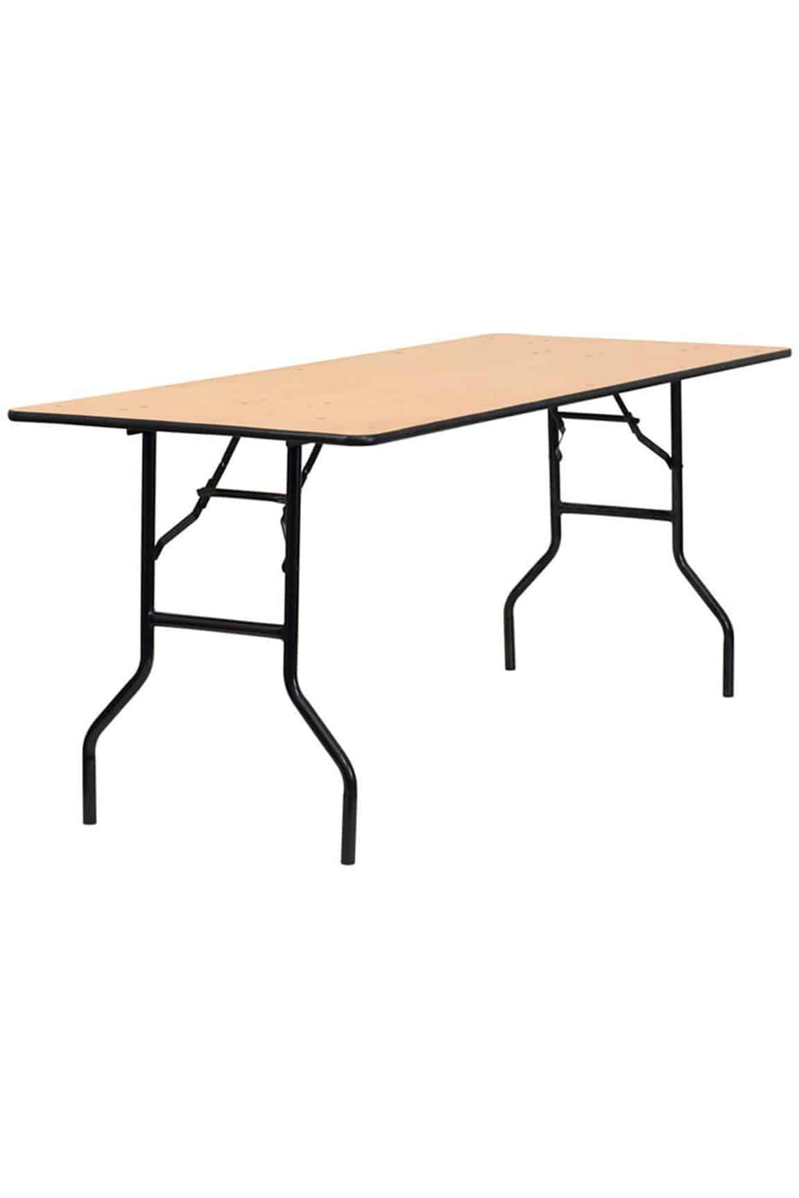 rectangle folding trestle table For Hire Herts Beds and Bucks