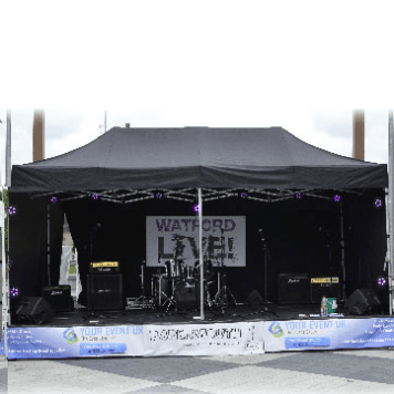 Pro Outdoor – Sound, Light, Marquee & Stage Package