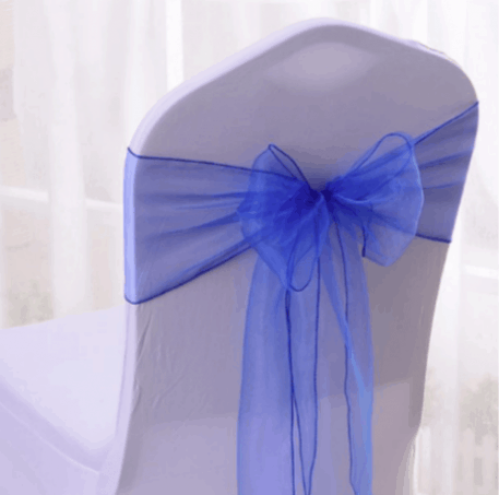 Chair Cover and Organza Sash