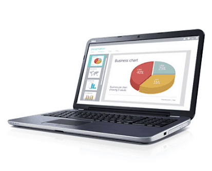 Laptop inc Microsoft Office & Audio Connections