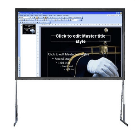 120″ Pro Event Fast Fold Screen