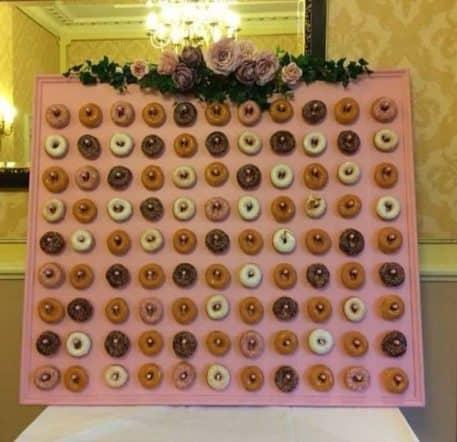 Pink Doughnut Wall Hire