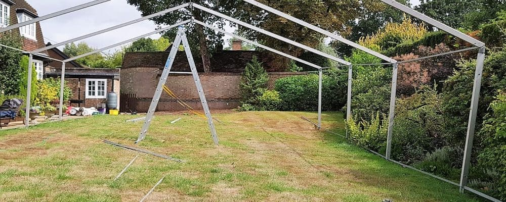 6 Meter Marquee Frame