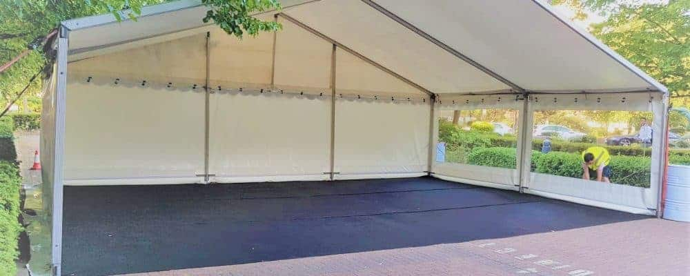 F1 Show Space Marquee