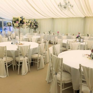 Linen Hire - Tablecloths - Chair Covers