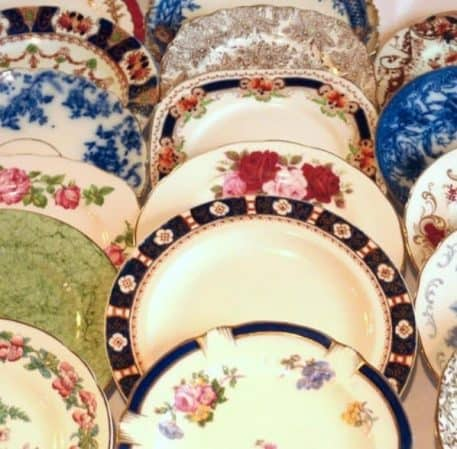 Vintage Dinner Plate Hire