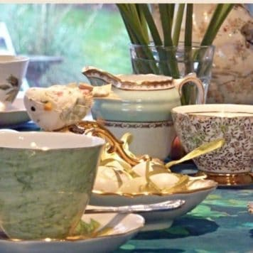Vintage Afternoon Tea Set Hire