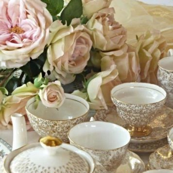 Vintage tea set hire bushey