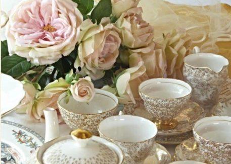 Vintage tea set hire bushey