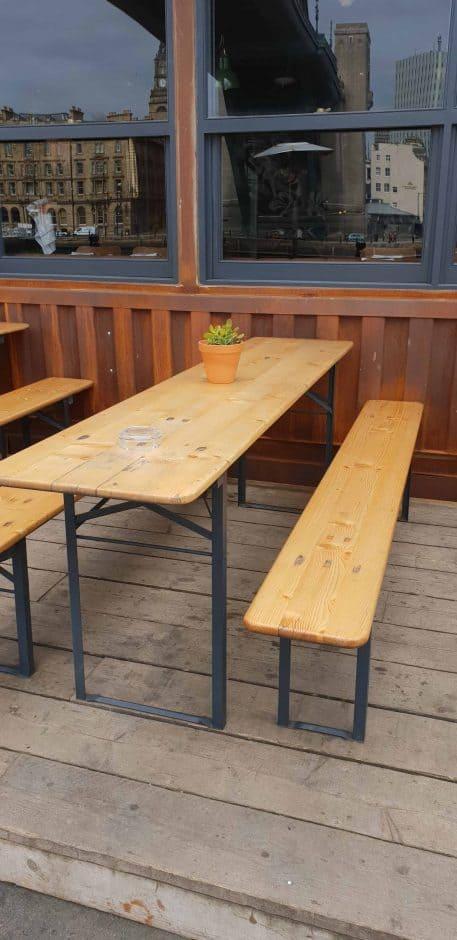 Narrow Table Hire