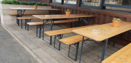 Table and bench Hire Hertfordshire