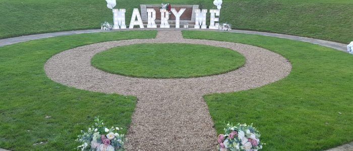 Marry ME Letters Hire