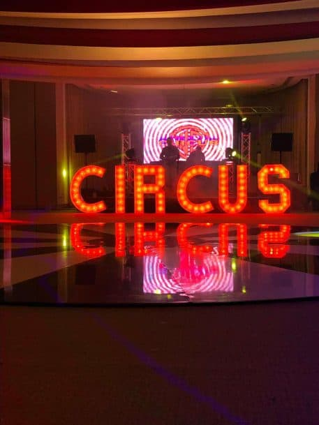 Circus Letter Hire Beds, Herts & Bucks