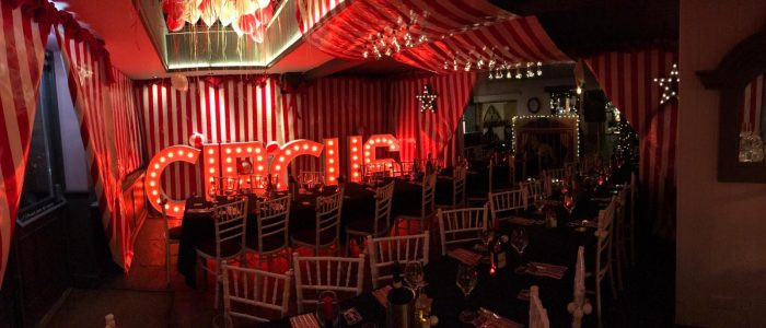 Circus Event Hire 4ft Letter Hertfordshire