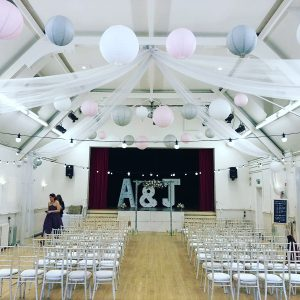 Furniture Ceiling Drape 4ft Letter Hire Hertfordshire