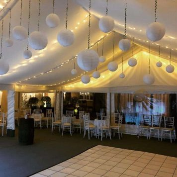 Marquee Decor Hire Hertfordshire