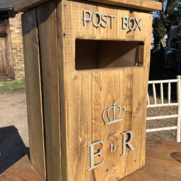 Rustic Post Box Hire Hertfordshire