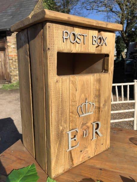 Rustic Post Box Hire Hertfordshire