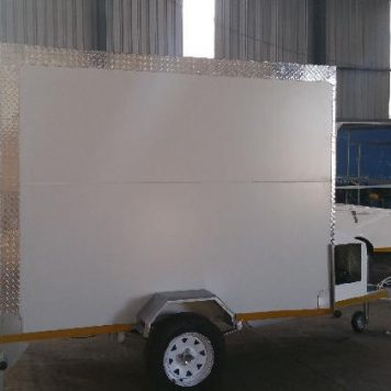 Mobile Fridge Freezer Trailer Hire Hertfordshire