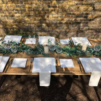 Eucalyptus Table Runner Hire