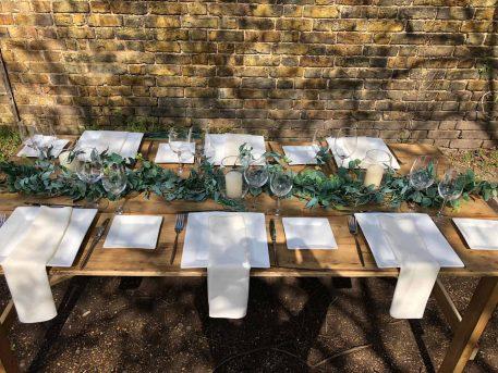 Eucalyptus Table Runner Hire