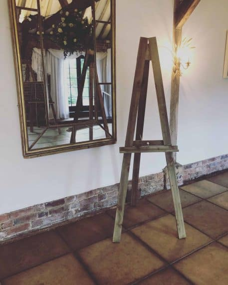Rustic Wooden Easel image 2