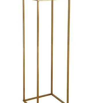 Gold Flower Stand Hire