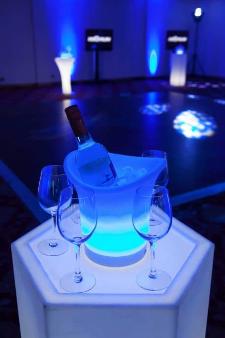 led ice bucket hire Bedford